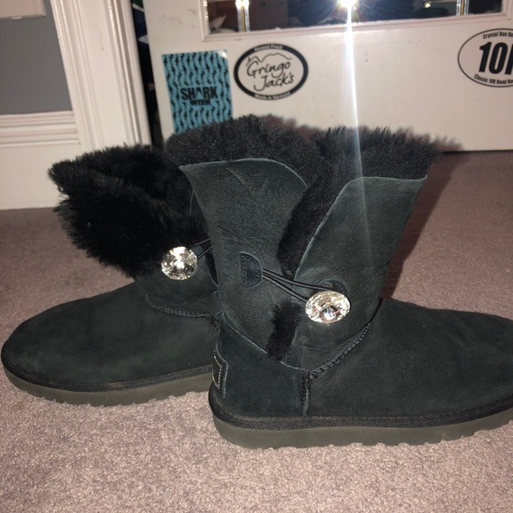 UGG Shoes   Bailey Button Bling Boot